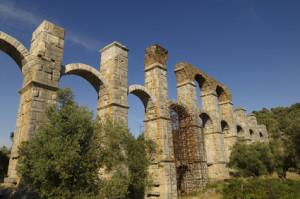 The Roman Aqueduct at Moria