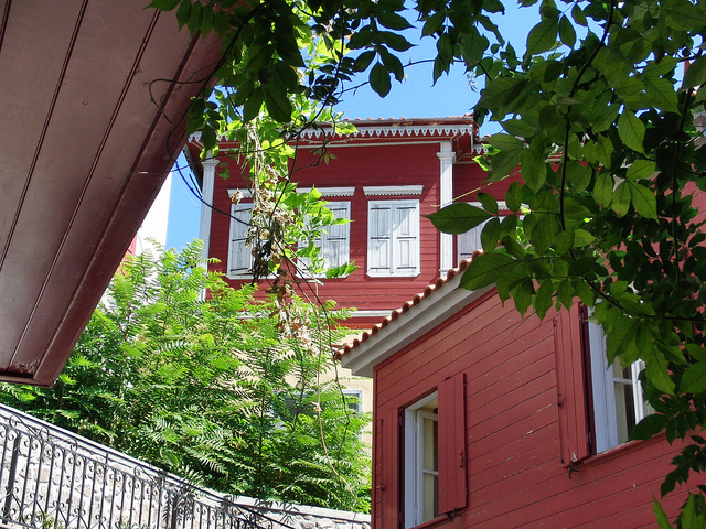 The house of Fine Arts at Molyvos (Former Krallis mansion)