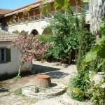 Leimonos Monastery courtyard