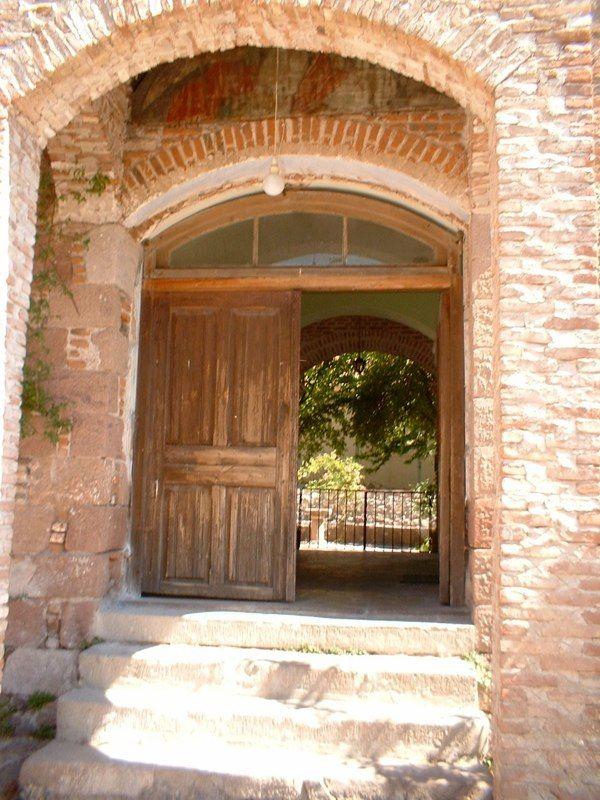 Leimonos Monastery gate