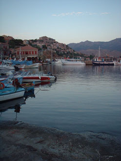 Molyvos harbour